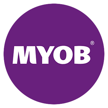 Image result for myob logo round