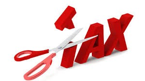 Scissor cutting tax