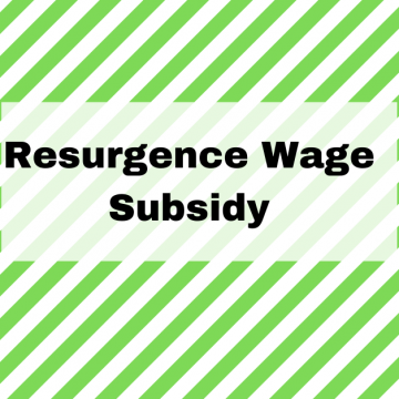 The Resurgence Wage Subsidy