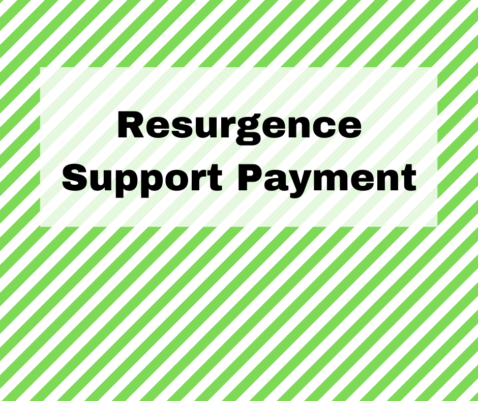 Resurgence Support Payment 2021